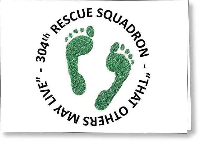 304th Rescue Squadron Greeting Card