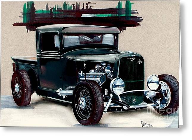 32 Ford Greeting Card