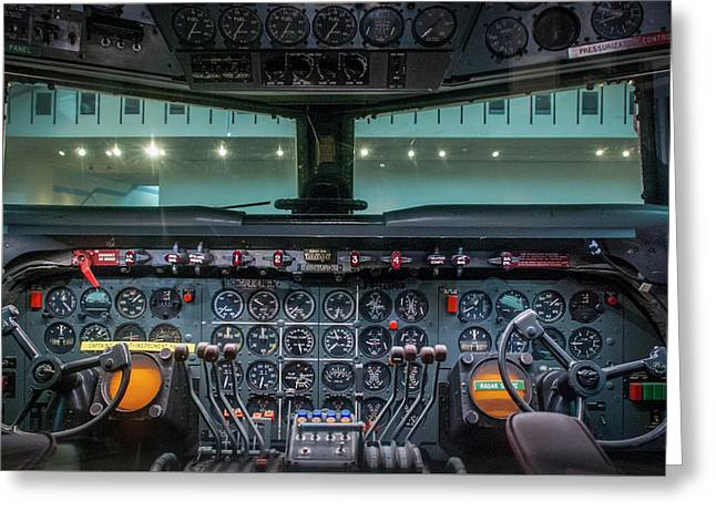 4242- Air And Space Museum  Greeting Card by David Lange