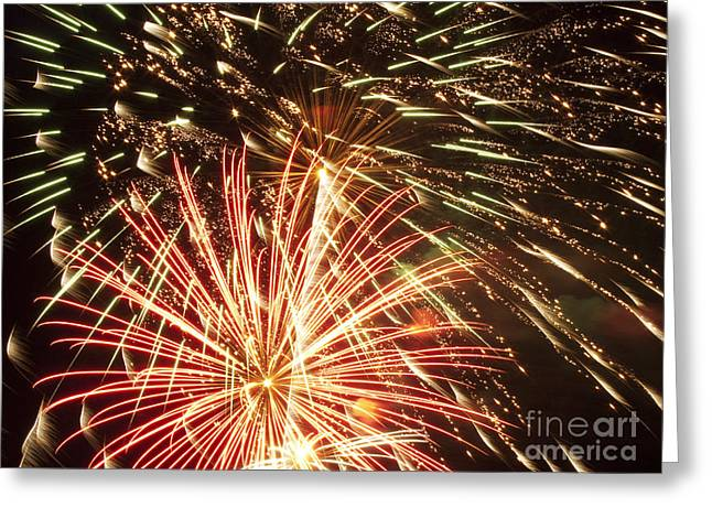 4th Of July Fireworks Greeting Card by Joe Carini - Printscapes