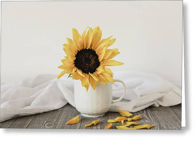 Sunshine In A Cup Greeting Card