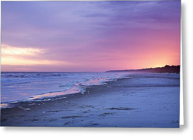 A Night On The Beach Begins Greeting Card