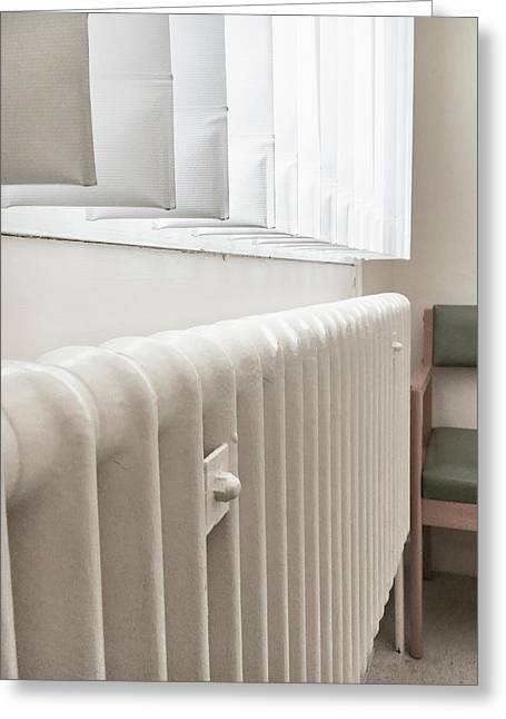 A Radiator Greeting Card by Tom Gowanlock