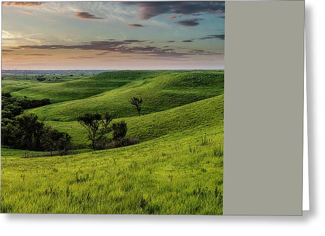 Custom Crop - A View From A Favorite Spot Greeting Card