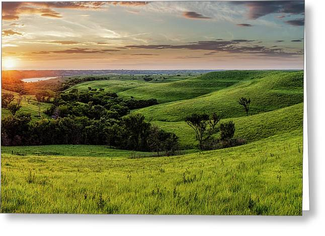 A View From A Favorite Spot 30x18 Greeting Card
