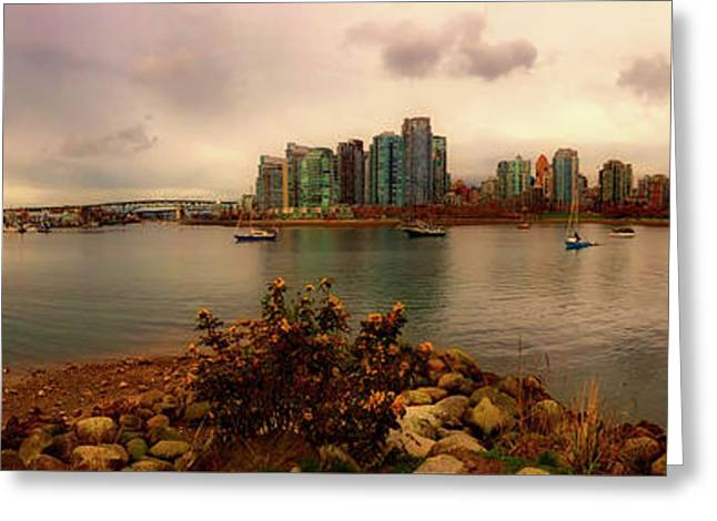 A View Of Vancouver Greeting Card