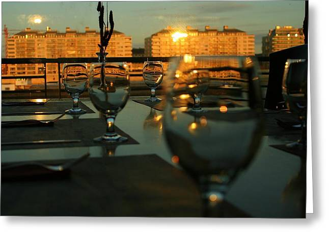 A38 Restaurant Greeting Card by Eye Contact