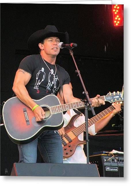 Aaron Pritchett Greeting Card