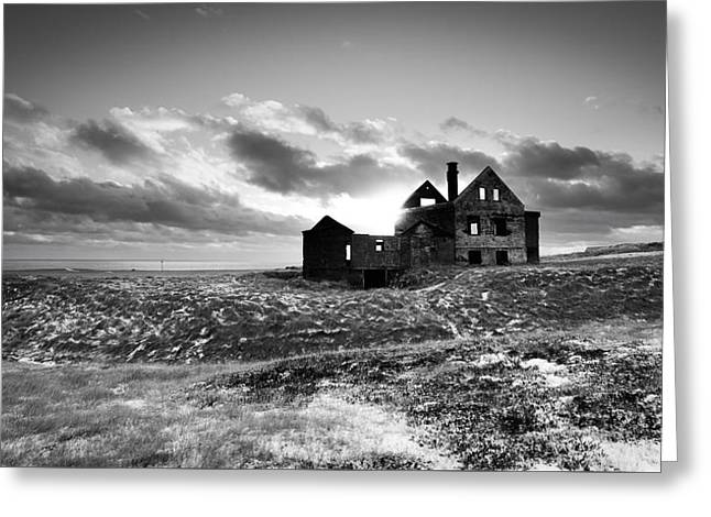Abandoned Farm On The Snaefellsnes Peninsula Greeting Card