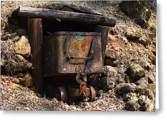 Abandoned Gold Mine Greeting Card