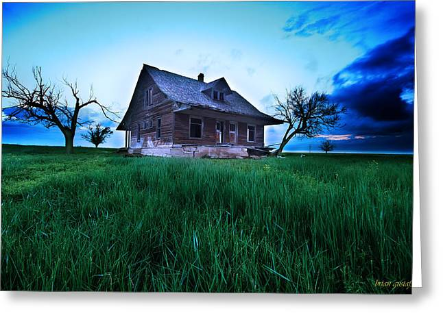 Last Chance Abandonment Greeting Card by Brian Gustafson