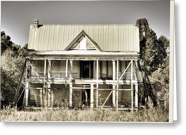 Abandoned Plantation House #1 Greeting Card by Andrew Crispi
