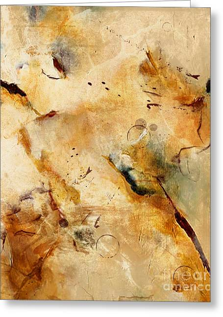 Abstract 130 Greeting Card by Angelina Cornidez