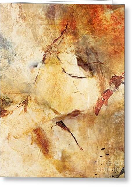 Abstract 131 Greeting Card by Angelina Cornidez