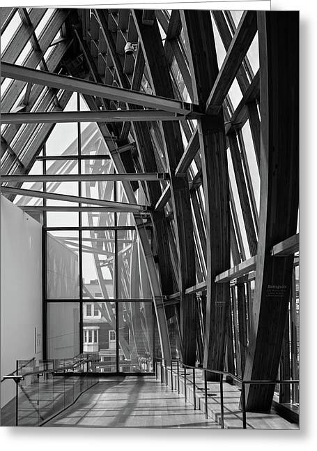 Abstract Architecture - Ago Toronto Greeting Card
