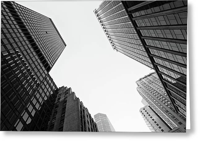 Abstract Architecture - New York Greeting Card