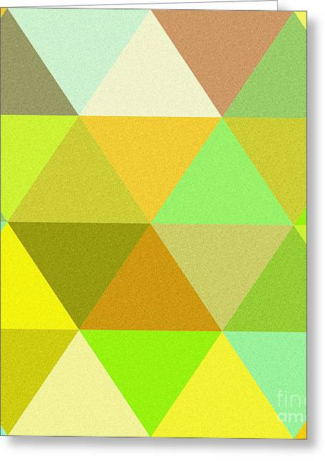 Abstract Colors  Greeting Card by Celestial Images