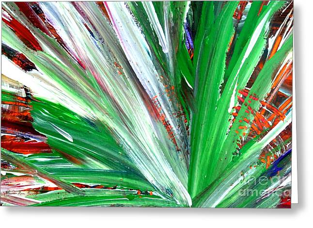 Abstract Explosion Series 92215 Greeting Card
