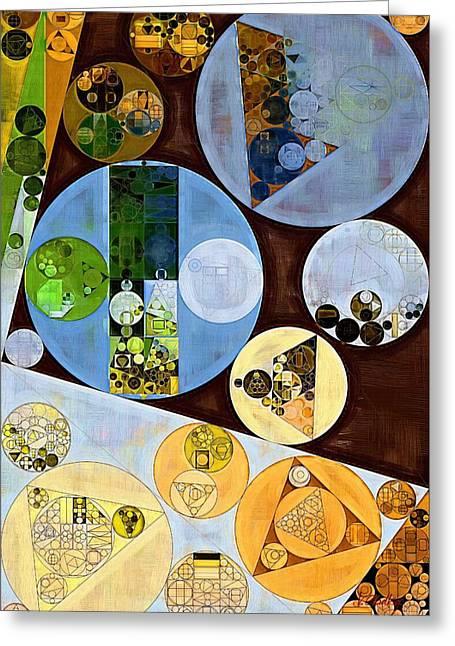 Abstract Painting - Bali Hai Greeting Card by Vitaliy Gladkiy