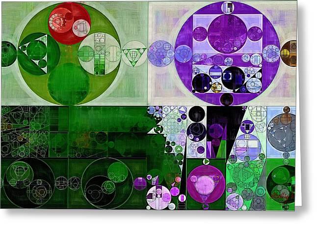Abstract Painting - French Grey Greeting Card by Vitaliy Gladkiy
