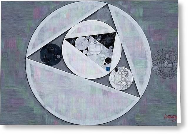 Abstract Painting - Ghost Greeting Card by Vitaliy Gladkiy