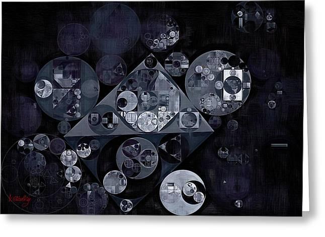 Abstract Painting - Manatee Greeting Card by Vitaliy Gladkiy