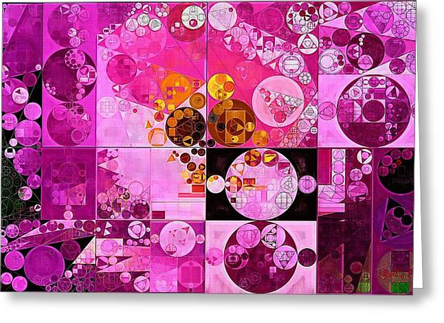 Abstract Painting - Tea Rose Greeting Card by Vitaliy Gladkiy