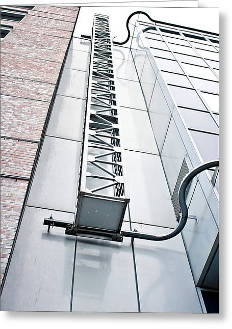 Access Ladder Greeting Card