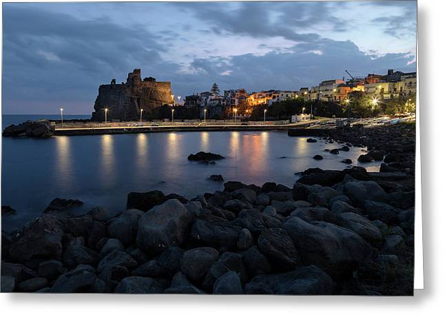 Aci Castello - Sicily Greeting Card by Joana Kruse