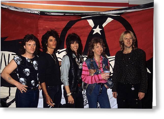 Aerosmith Greeting Card