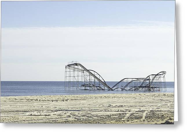 After Hurricane Sandy Greeting Card