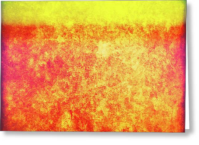 After Rothko 8 Greeting Card