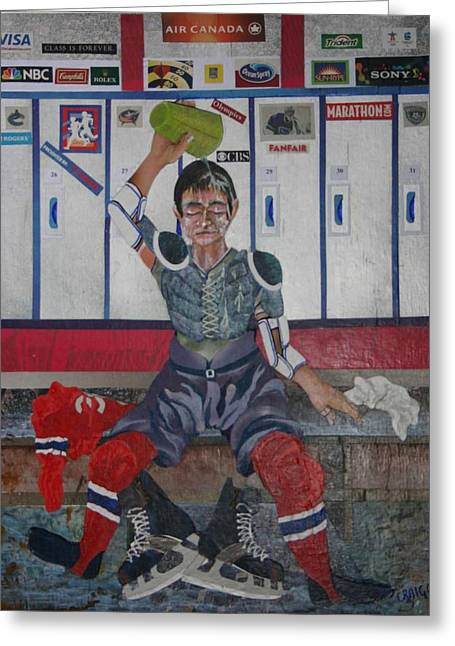 After The Game Greeting Card by Bob Craig
