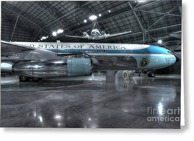 Air Force One - Boeing Vc-137c, Sam 26000 Greeting Card