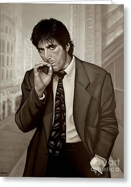 Al Pacino  Greeting Card