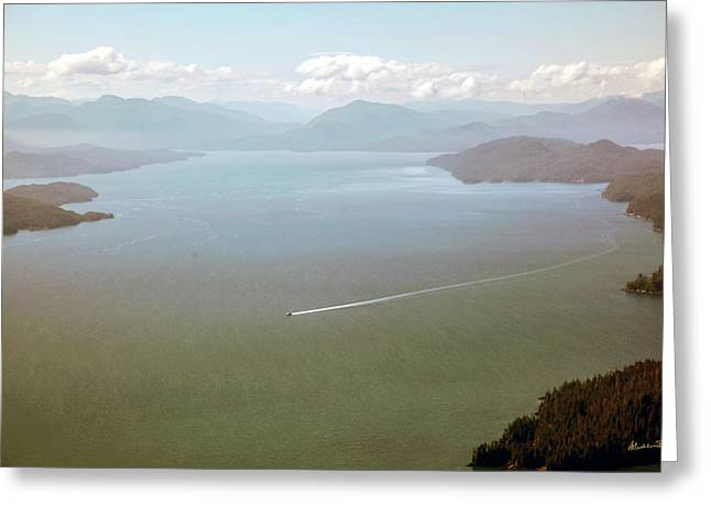 Greeting Card featuring the photograph Alaska The Beautiful by Madeline Ellis
