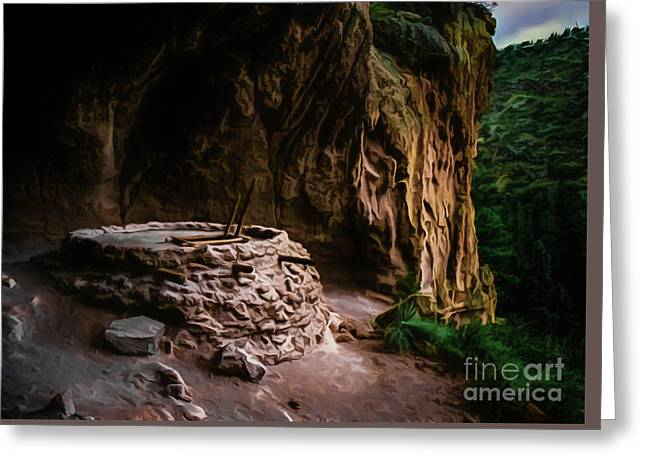 Alcove House Greeting Card by Jon Burch Photography