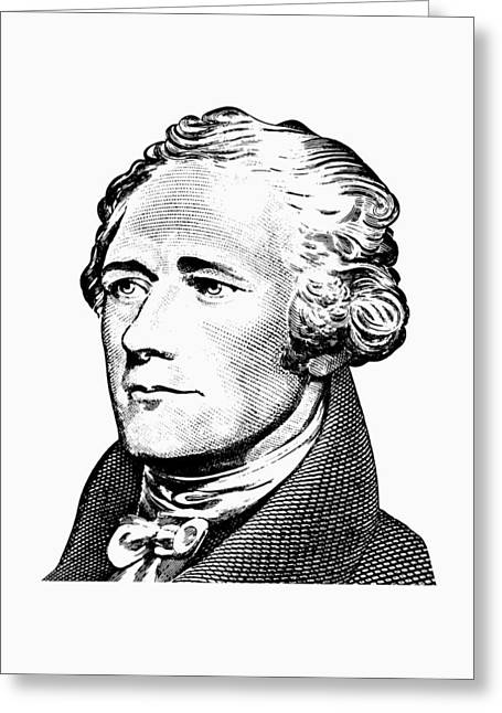 Alexander Hamilton - Founding Father Graphic  Greeting Card