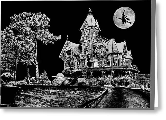 All Hallows Eve Greeting Card by Mike Flynn