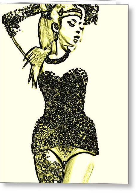 All That Glitters Greeting Card by Micael Pace
