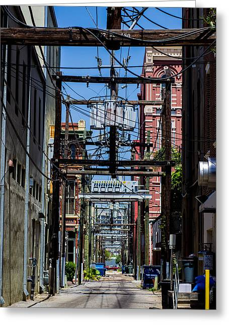 Alley Way Greeting Card