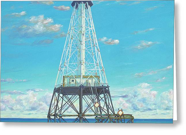 Alligator Reef Lighthouse Greeting Card