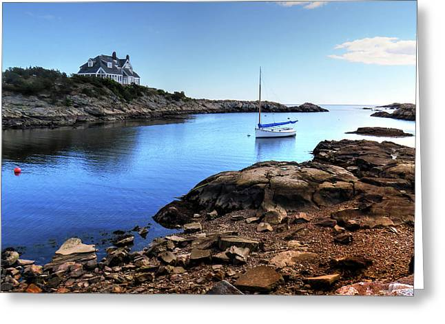 Greeting Card featuring the photograph Almost Paradise Newport Ri by Tom Prendergast
