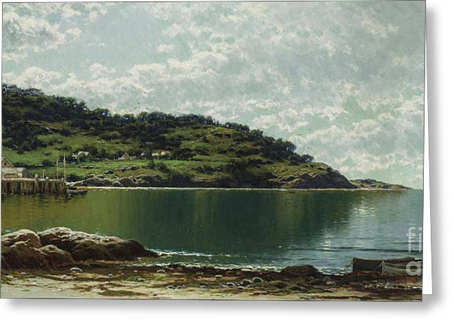 Along The Maine Coast Greeting Card
