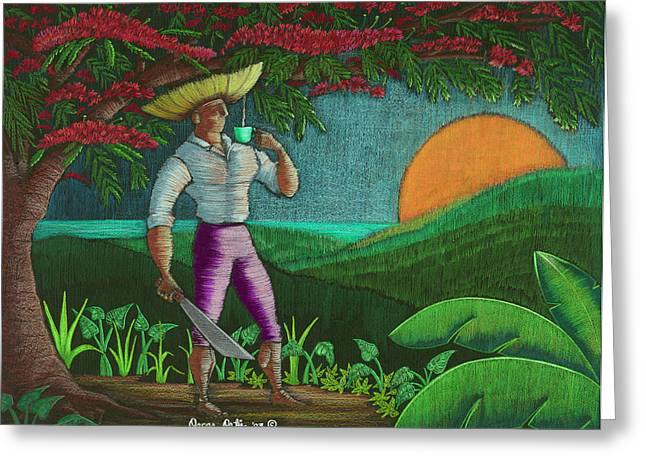 Amanecer En Borinquen Greeting Card