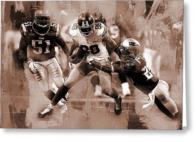 American Football 02 Greeting Card by Gull G