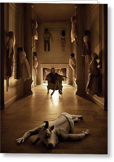 American Horror Story Coven 2013 Greeting Card by Unknown