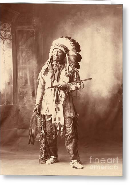 American Horse, Oglala Lakota Indian Greeting Card