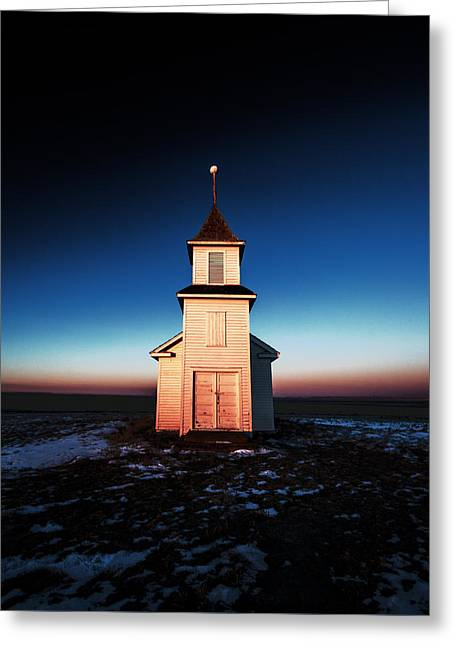 And There Was Light Greeting Card by Todd Klassy