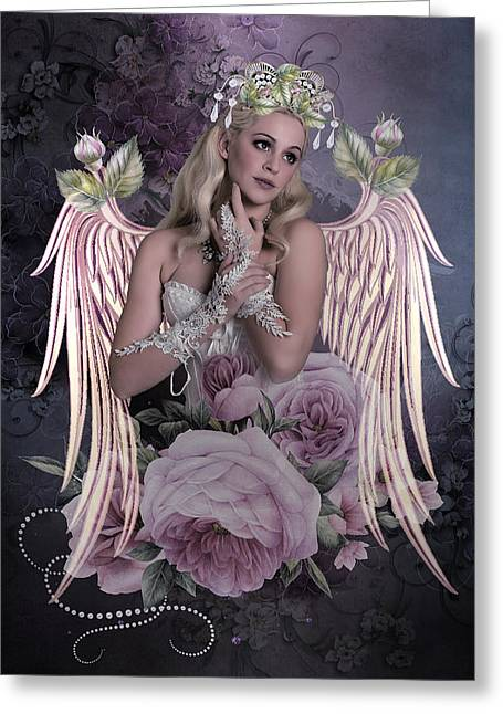 Angel Bride Greeting Card